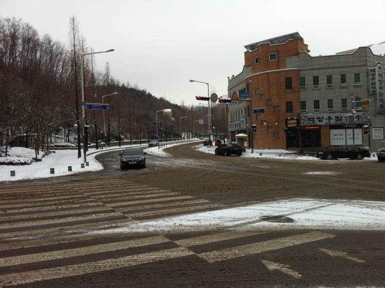 Slushy Yeongtong streets