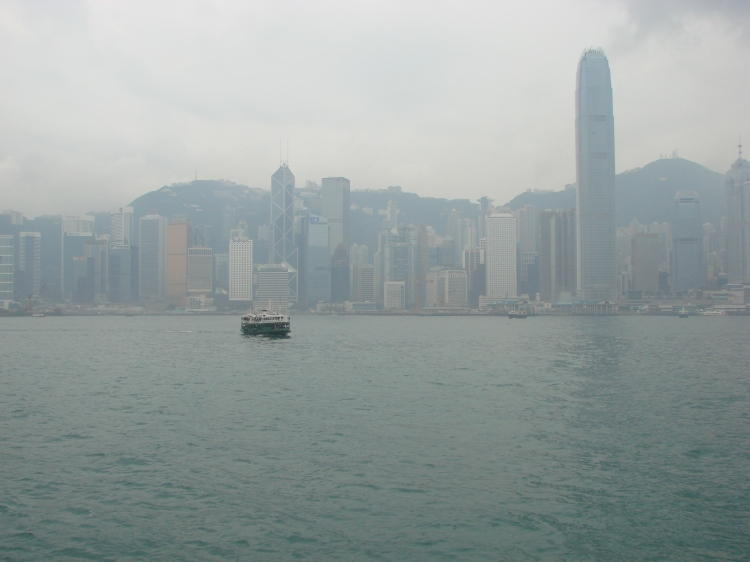 Hong Kong and the Star Ferry, May 2008