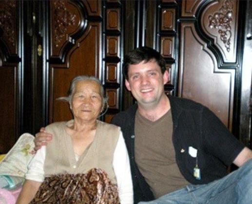 With Herself's 할머니 around 2007.